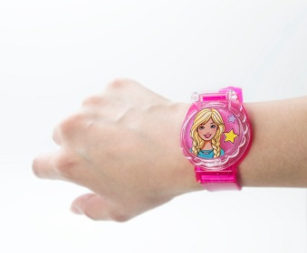 Barbie Комплект за грим  с часовник 2