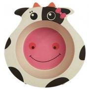 Бамбукова чинийка Крава и играчки 2