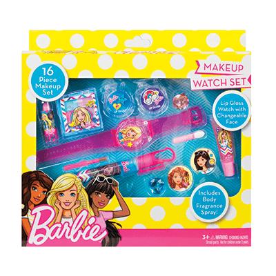 Barbie Комплект за грим  с часовник 1
