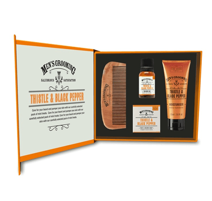 Комплект за брада и лице - Трън и Пипер 1